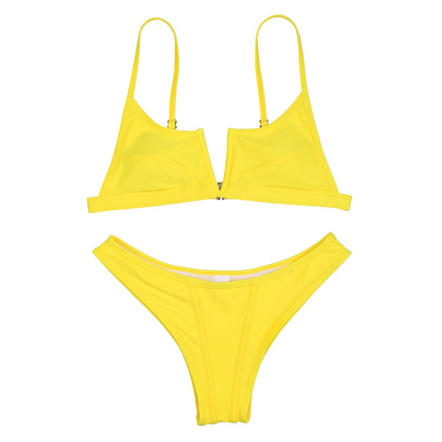 BISOUS WEAR SMALL / YELLOW DELLA SET- YELLOW