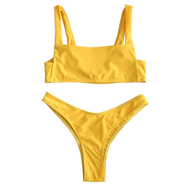 BISOUS WEAR SMALL / YELLOW JUNO SET- YELLOW
