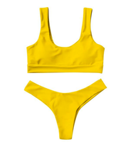 BISOUS WEAR SMALL / YELLOW RIVA SET