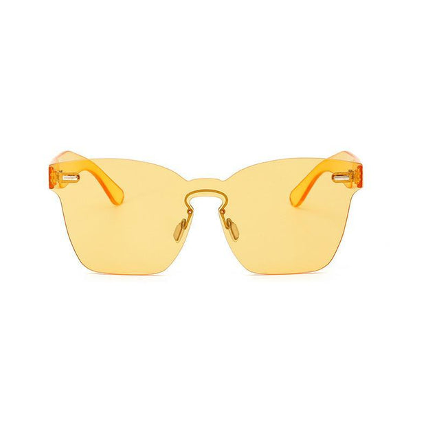 BISOUS WEAR YELLOW RIVERA SUNNIES