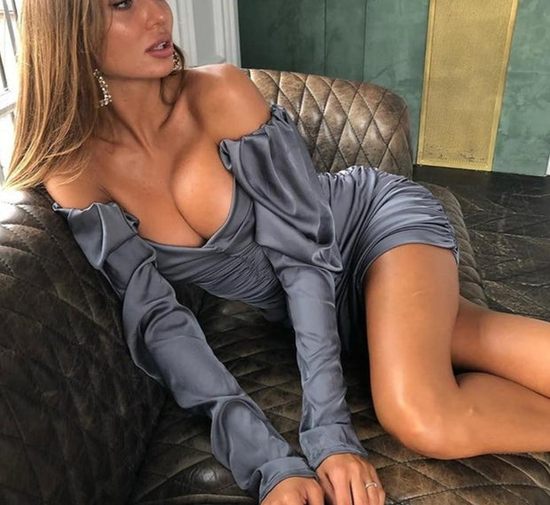 Riley Satin Dress