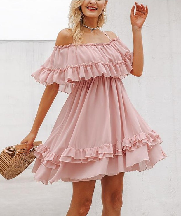 Charlotte Ruffle Dress