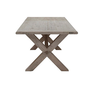 Jedálenský stôl CROSS DINING TABLE RAW