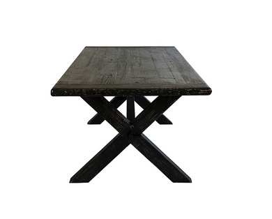 Jedálenský stôl CROSS DINING TABLE BLACK