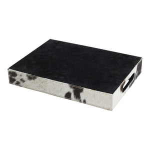 Sada 3 podnosov COW black/white
