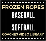FROZEN ROPES BASEBALL & SOFTBALL COACHES VIDEO LIBRARY; Over 100 hours of instruction and coaching strategies!
