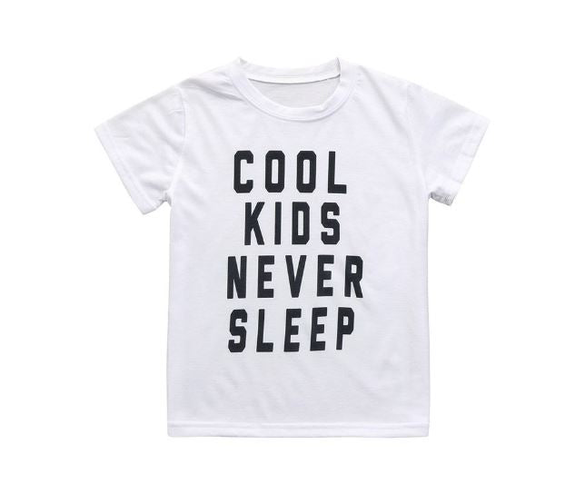 Cool Kids Never Sleep Tee
