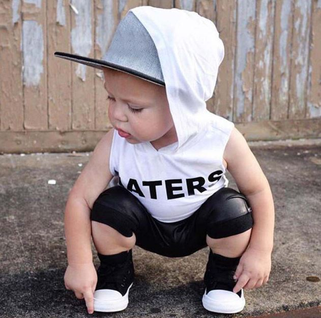Haters Hooded Tank & Jogger Shorts Set