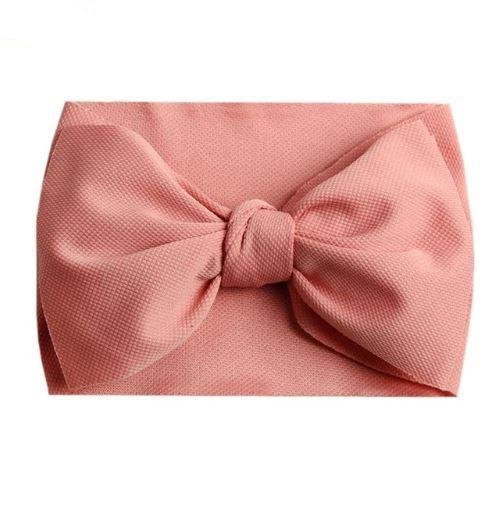 Messy Turban Bows (Pretty n' Pink Collection)