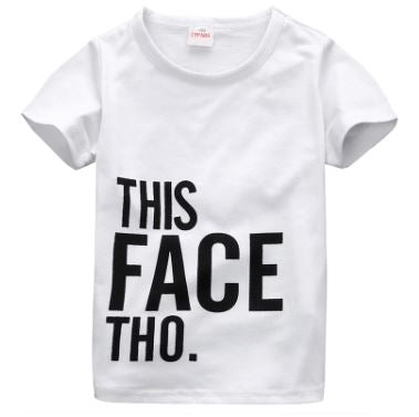 """This Face Tho"" Tee"