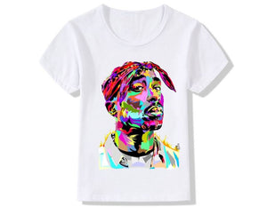 Abstract King of Hip Hop Tee