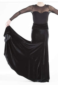 "Flamenco skirt, ""ARALIA"""