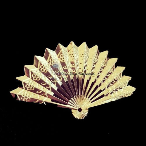Flamenco Brooch golden fan