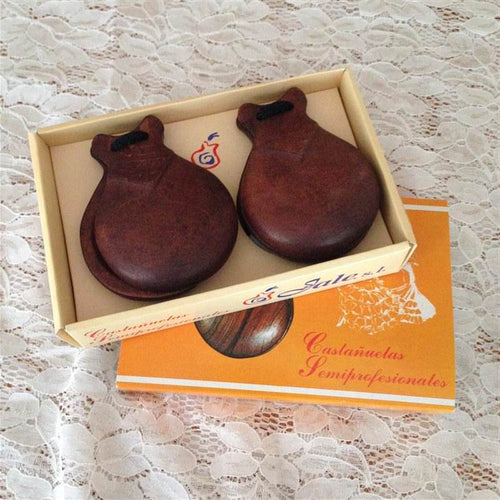 Castanet pulida mahogany for beginners