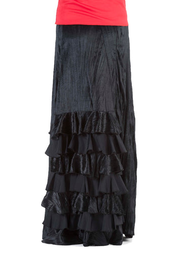 Tailor-Made Flamenco skirt, model