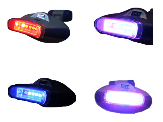 Teeth Whitening Lamp with Blue, Red and Purple LED Light