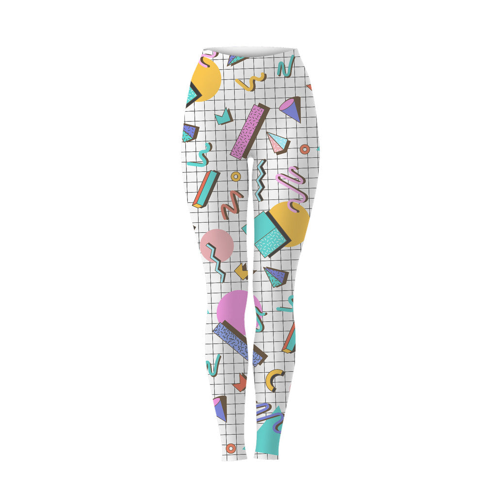 Saved By Leggings (White)