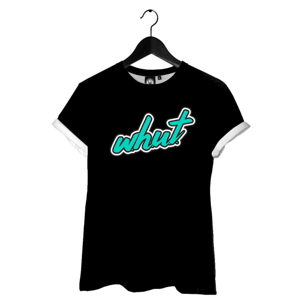WHUT Logo Tee (Ladies)(Black)