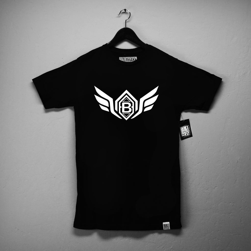 Black/White Wings T Shirt