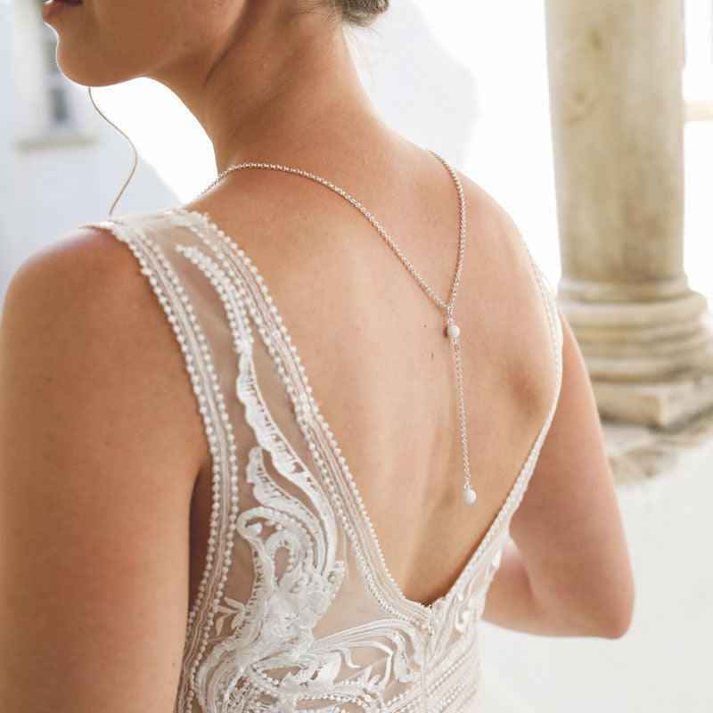 "Bridal jewellery necklace ""Marie Lena"""