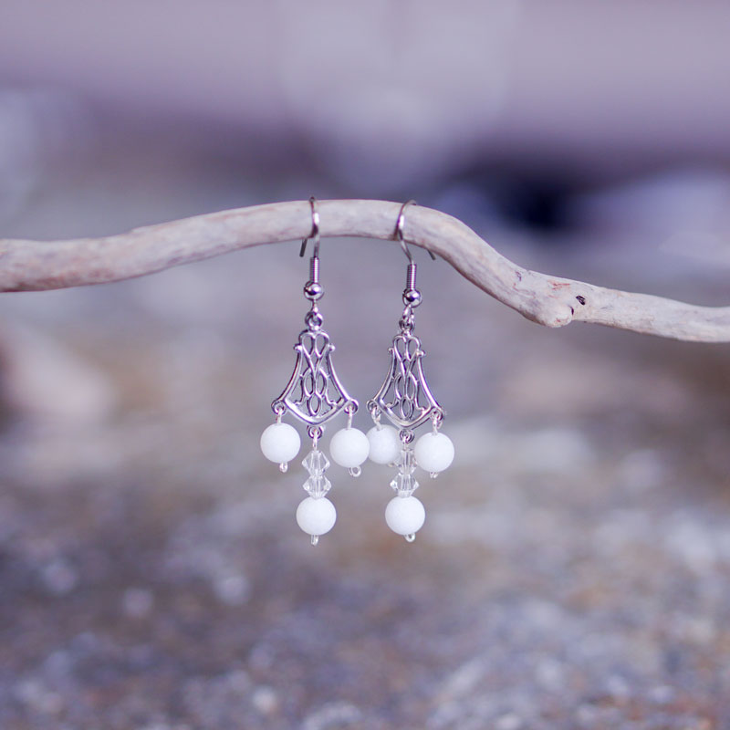"""Ornament"" earrings - Venustis"