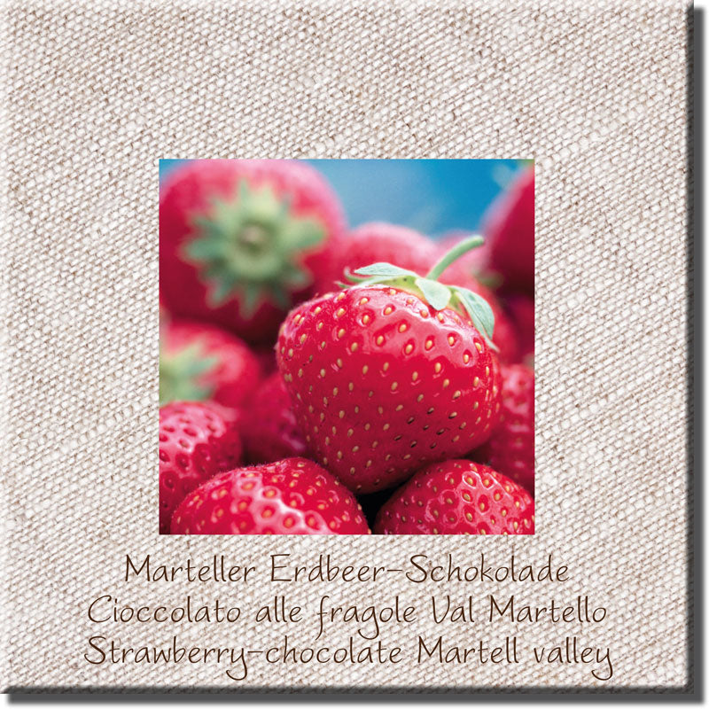 Marteller strawberry chocolate, whole milk - Venustis