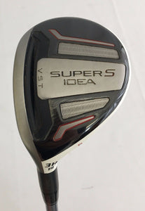 Left Handed Adams Idea Super S 19* 3 Hybrid w/HC Matrix Kujoh Regular Flex