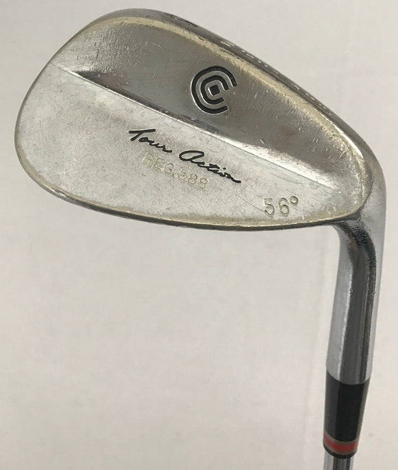 Cleveland 588 56* Wedge True Temper Dynamic Gold Steel Stiff Flex