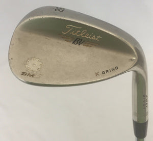 Titleist Vokey SM5 Gold Nickel 58-11 Wedge Steel Wedge Flex