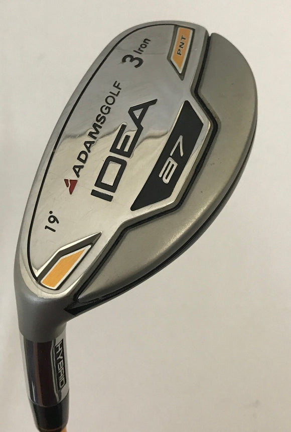 Left Hand Adams Idea a7 19* 3 Hybrid w/Head Cover ProForce Stiff Flex