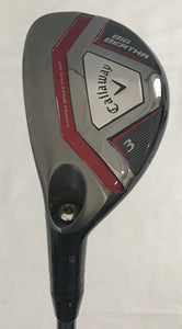 Left Handed Callaway Big Bertha 2015 19* 3 Hybrid w/HC Recoil F3 Regular Flex