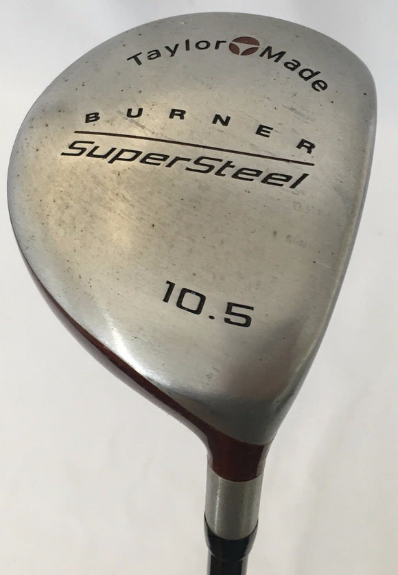 TaylorMade Burner SuperSteel 10.5* Driver Graphite Regular Flex