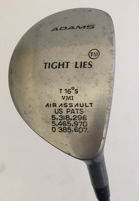 Adams Tight Lies 16* Fairway Wood Graphite Regular Flex