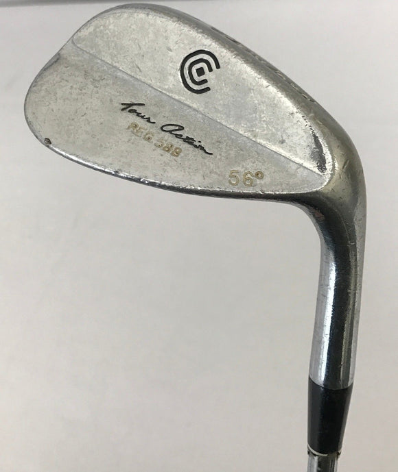 Cleveland 588 Chrome 56* Sand Wedge True Temper Steel Wedge Flex