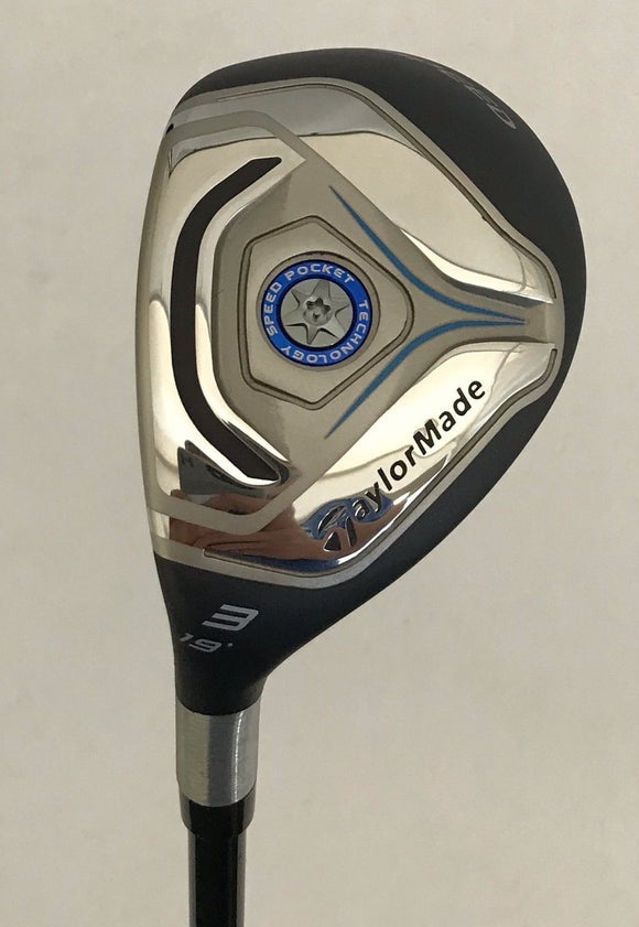 Left Hand TaylorMade JetSpeed 19* 3 Hybrid w/Head Cover