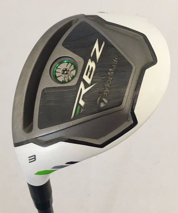 Left Handed TaylorMade RocketBallz 19* 3 Hybrid w/Head Cover Graphite Stiff Flex