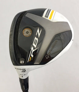 Left Hand TaylorMade RocketBallz Stage 2 Tour 14.5* 3 Wood Stiff Flex