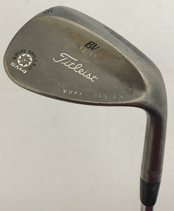 Titleist Vokey SM4 Black Nickel 56* Wedge Steel Wedge Flex