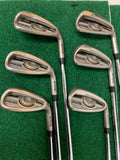 2016 Ping G Iron Set Black Dot U-6 Iron (6 Clubs) Project X Rifle 6.0 Stiff Shafts