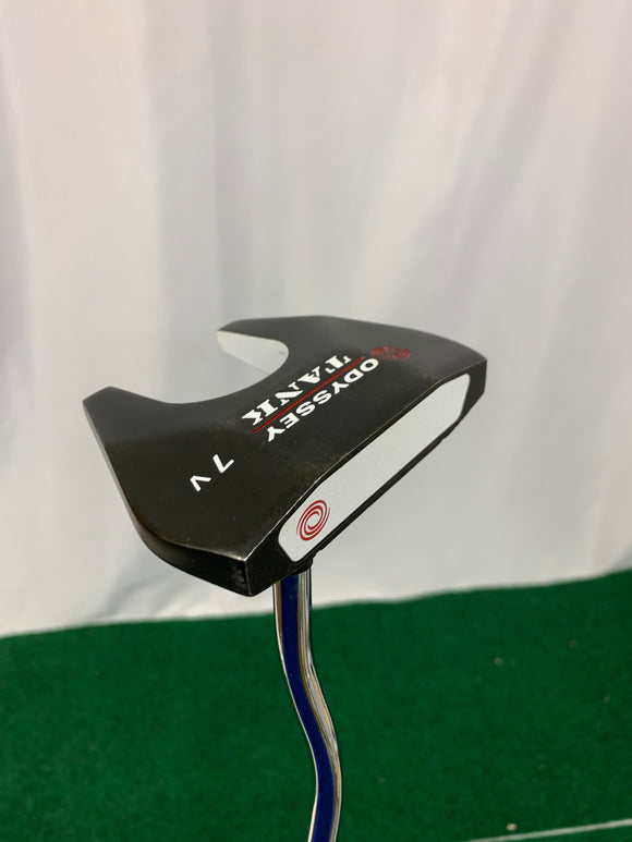 Odyssey Tank 7V Putter 35 Inches Over Sized WINN Grip