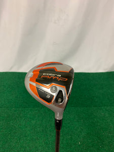Cobra AMP Orange 3 Wood Stiff Flex w/ Head Cover