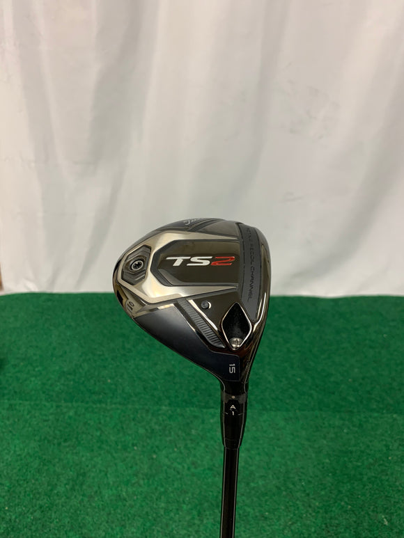 NEW! Titleist TS2 3 Wood Stiff Flex w/ Head Cover