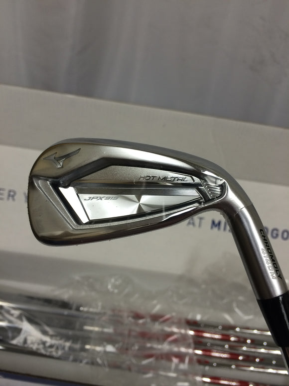 NEW! Mizuno JPX 919 Hot Metal 4-PW Iron Set Modus Tour105 Regular Flex