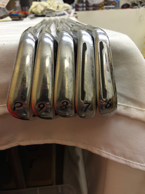 Taylormade PSi 6-PW Iron Set True Temper Dynamic Gold S300 Stiff Flex
