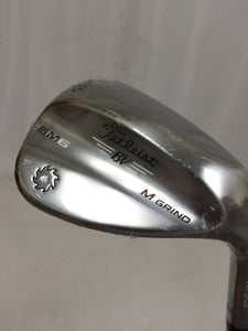 NEW! Titleist Vokey SM6 58°-08° Tour Chrome Wedge True Temper DG Wedge Flex