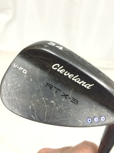 Cleveland RTX-3 Black Satin 54°-14° Wedge True Temper Dynamic Gold Wedge Flex