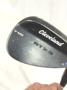 Cleveland RTX-3 Black Satin 54°-11° Wedge True Temper Dynamic Gold Wedge Flex