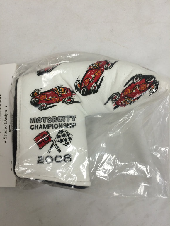 NEW! Scotty Cameron 2008 MOTOR CITY CHAMPIONSHIP Head Cover - Putter