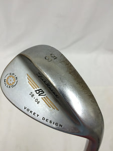 Titleist Vokey Spin Milled Tour Chrome 2009 58°-04° Wedge