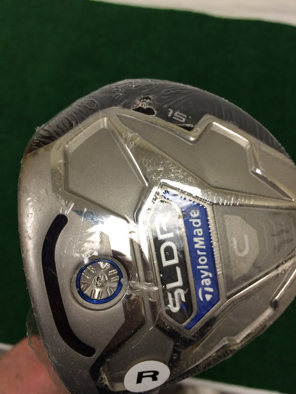 NEW! Left Hand TaylorMade SLDR C °15 3 Fairway Wood TM SLDR Regular Flex
